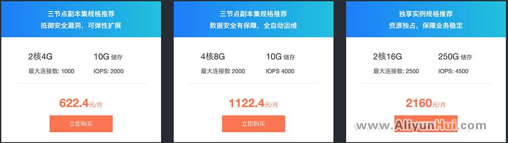 阿里云数据库MongoDB 3.4优惠套餐及价格表-阿里云惠网