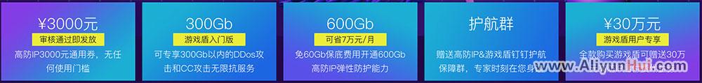 """阿里云""""棋牌游戏"""" 5大DDoS防护优惠-认证成功即可领取"""